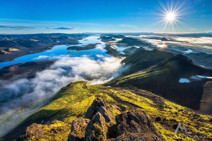 Hochland Iceland Langisjoer