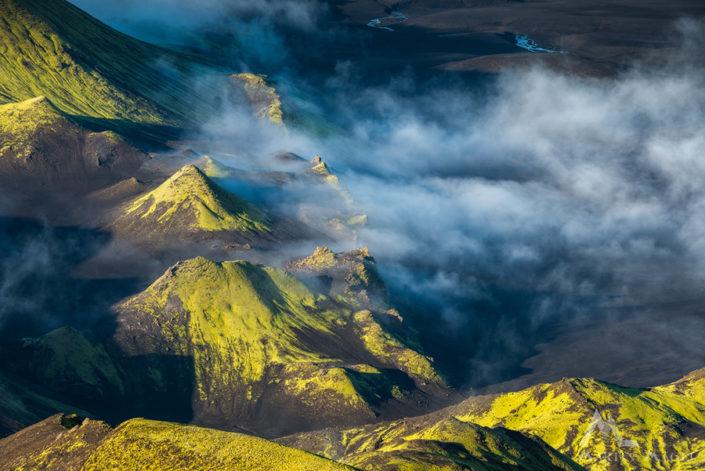 Hochland Iceland vulkanisch
