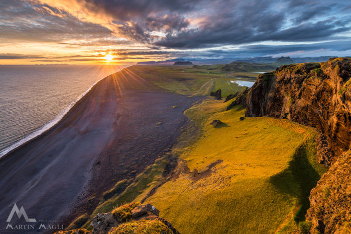 Island Strand Sonnenuntergang