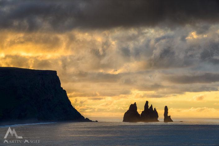 Island Vik Meer
