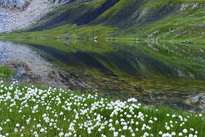 Lacs de fenetre Spiegelung Wallis