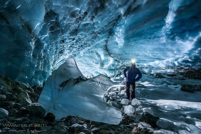 Loetschental Gletscher Wallis