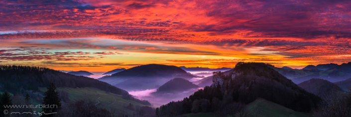 Belchen Ankenballen Panoramafoto