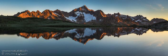 Panorama Furka Seespiegelung