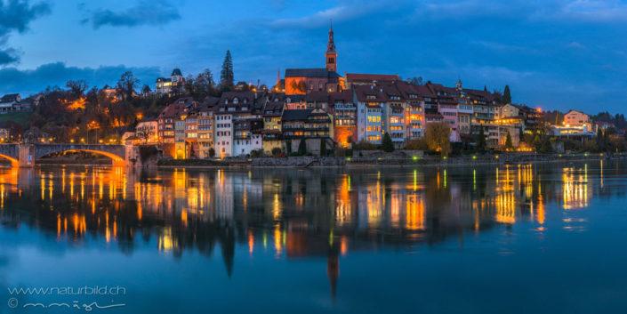 Panorama Laufenburg Altstadt Fluss