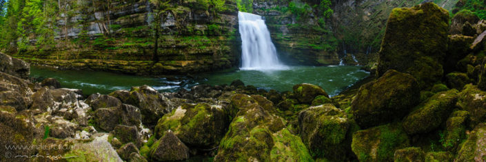 Panorama Saut du Doubs Wasserfall