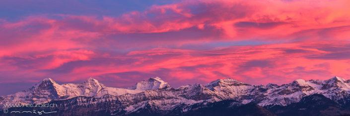 Berner Alpen Panorama