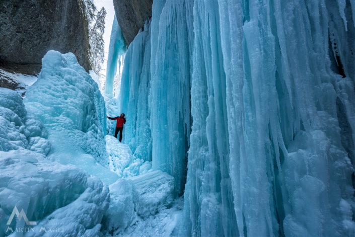 Eisfall Emmental Räbloch