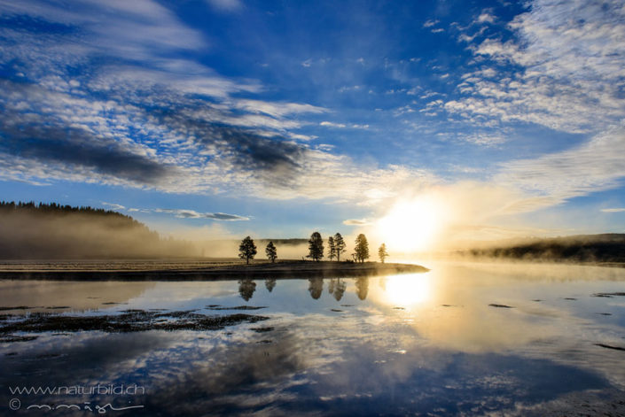 Yellowstone Nordamerika See