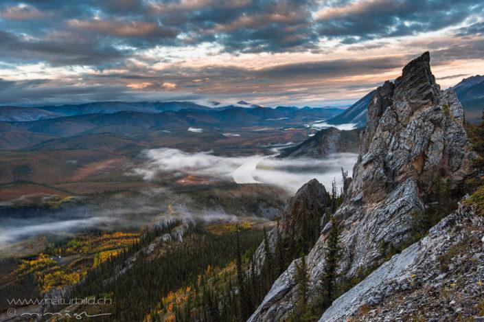 Yukon Nordamerika Aussichtspunkt