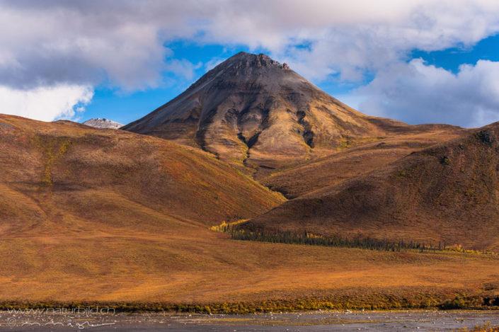 Yukon Vulkan Gipfel