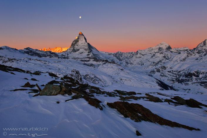 Wallis Matterhorn Mond