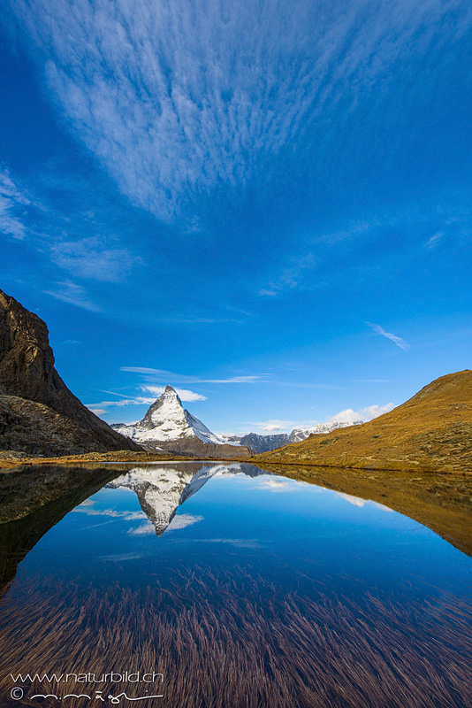 Zermatt Seespiegelung Matterhorn