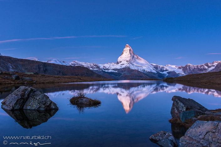 Bergsee Matterhorn Wallis