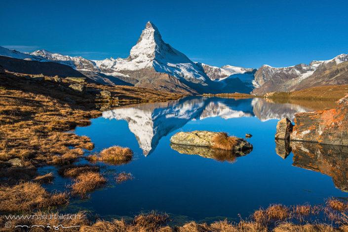 Zermatt Spiegelung Frühling