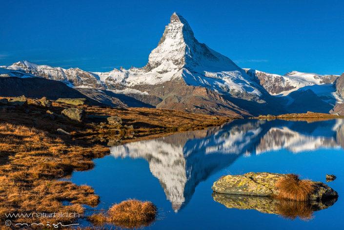 Matterhorn Winter Spiegelung