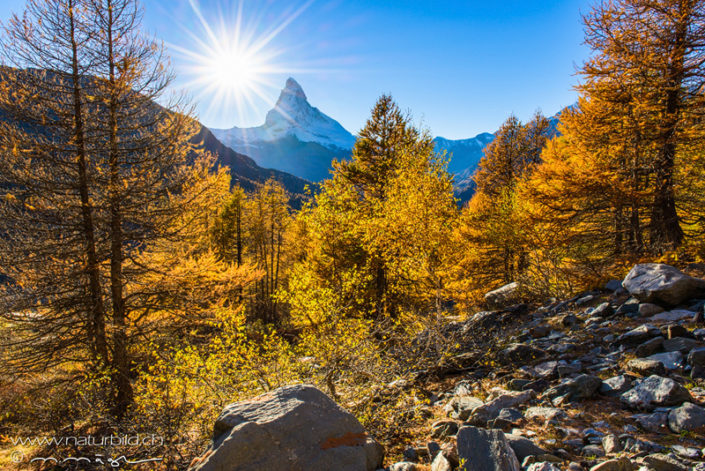Matterhorn Sonne Sommer