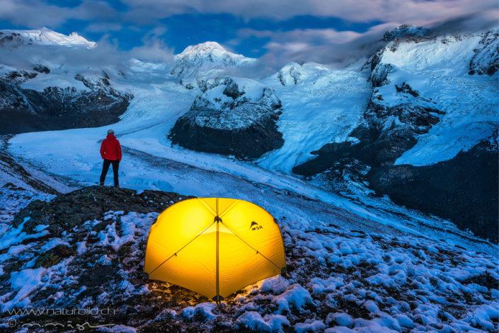 Outdoor Zelt Gletscher