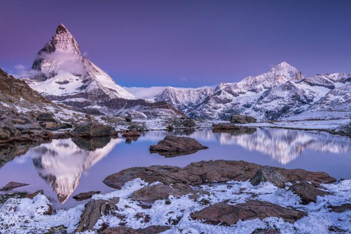 Matterhorn Ryffelsee Zermatt