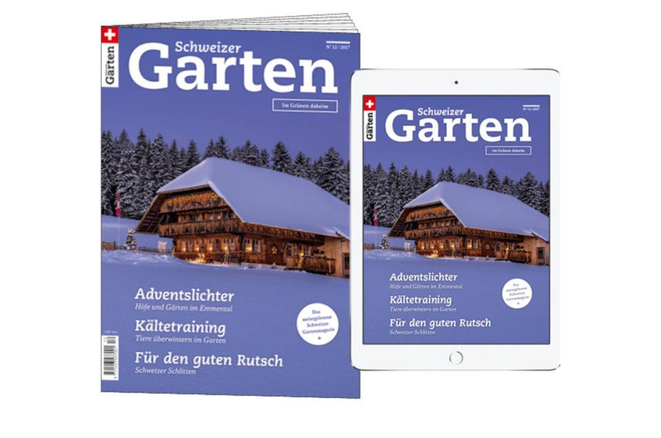 Reportage in  Schweizer Garten