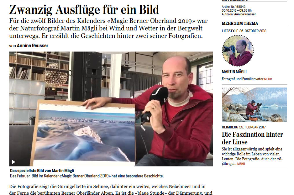 Interview in der Jungfrauzeitung