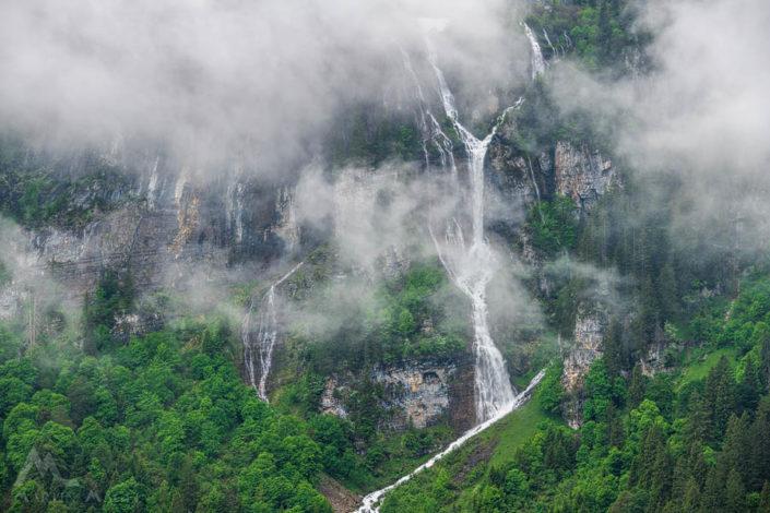 Wasserfall Braunwald Glarus