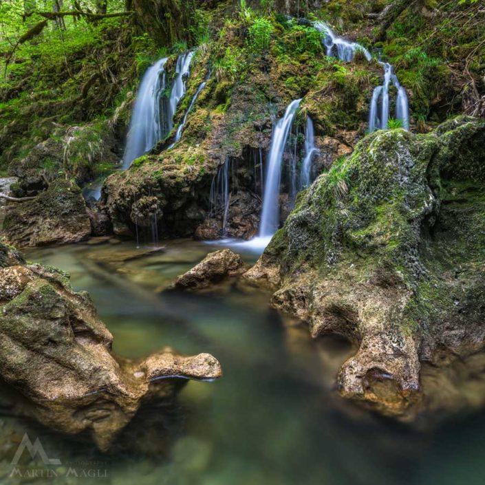 Wasserfall Orbe