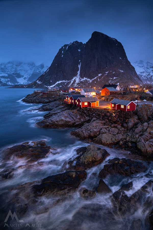 Lofoten Norwegen Winter