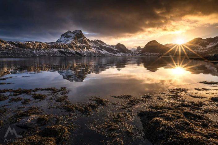 Lofoten Fjord Norwegen