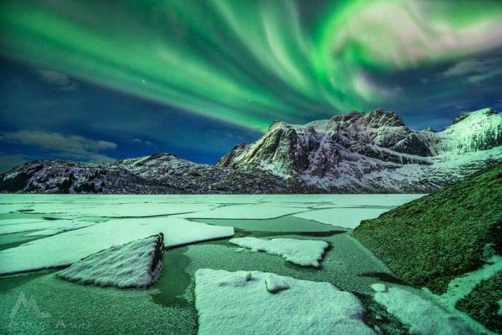 Polarlicht Norwegen Lofoten