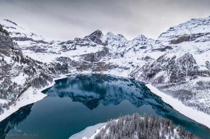 Oeschinensee Winter Alpen