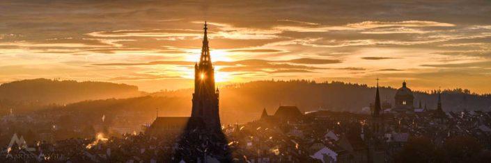 Panorama Bern Münster