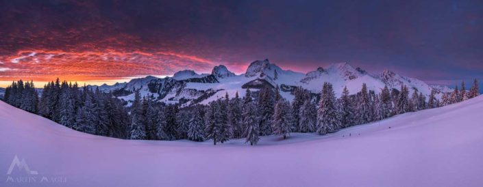 Panorama Winter Gantrisch