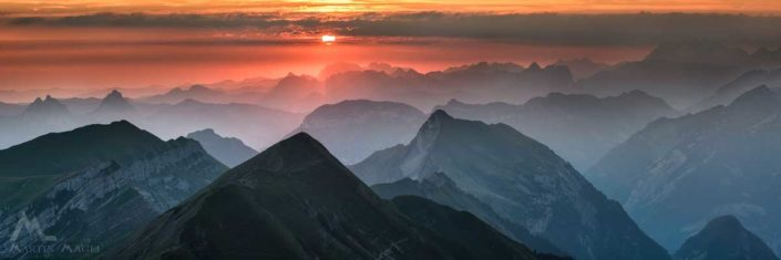 Panorama Berge Zentralschweiz