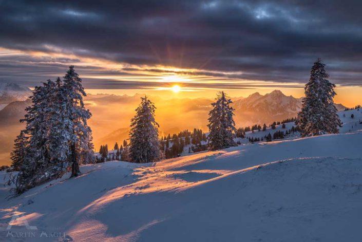 Rigi Pilatus Winter