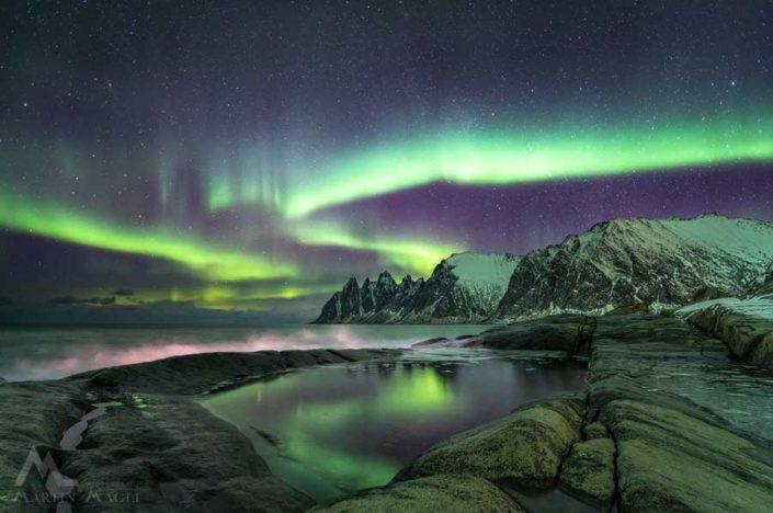 Polarlicht Norwegen Senja
